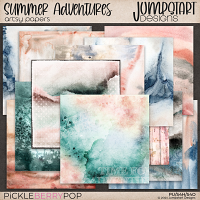 Summer Adventures {Artsy Papers}