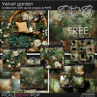 Velvet garden - collection with quick pages & FWP