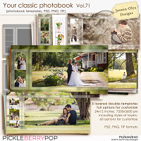 Your classic photobook Vol.71 (Jasmin-Olya Designs)