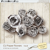 CU Paper Flowers Vol.8 (Jasmin-Olya Designs)