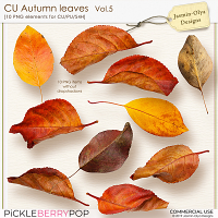 CU Autumn Leaves Vol.5 (Jasmin-Olya Designs)