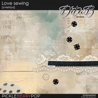 Love sewing - overlays