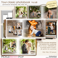 Your classic photobook Vol.68 (Jasmin-Olya Designs)