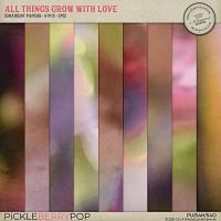 All Things Grow With Love Gradient Papers