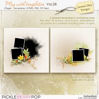 Play With Templates Vol.28 (Jasmin-Olya Designs)