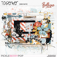 TOGETHER   elements by Bellisae