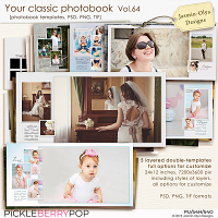 Your classic photobook Vol.64 (Jasmin-Olya Designs)