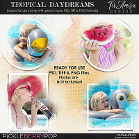 Tropical Daydreams ~ Out Of Bounds photo masks