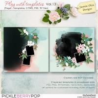 Play With Templates Vol.13 (Jasmin-Olya Designs)