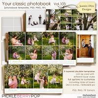Your classic photobook Vol.103 (Jasmin-Olya Designs)