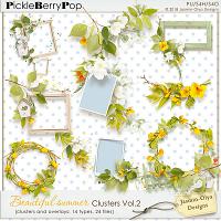Beautiful summer - Clusters Vol.2 (Jasmin-Olya Designs)