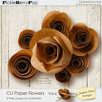 CU Paper Flowers Vol.6 (Jasmin-Olya Designs)