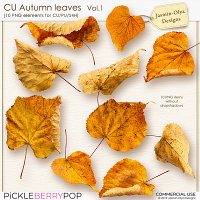 CU Autumn Leaves Vol.1 (Jasmin-Olya Designs)