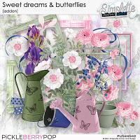 Sweet Dreams and Butterflies (addon) by Simplette