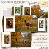 Your classic photobook Vol.102 (Jasmin-Olya Designs)