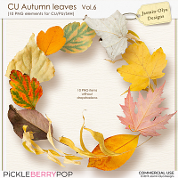 CU Autumn Leaves Vol.6 (Jasmin-Olya Designs)