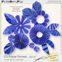 CU Paper Flowers Vol.10 (Jasmin-Olya Designs)