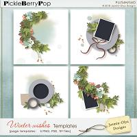 Winter Wishes - Templates (Jasmin-Olya Designs)
