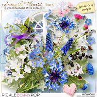 Among the flowers - The kit (Jasmin-Olya Designs)