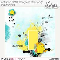 October 2019 Template Challenge
