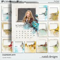 2019 Calendar Quick Pages