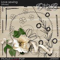 Love sewing - stitches