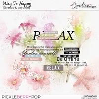 Way to Happy-Overlay & Wa