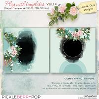 Play With Templates Vol.14 (Jasmin-Olya Designs)