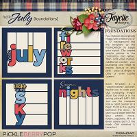 Hello July: Foundations