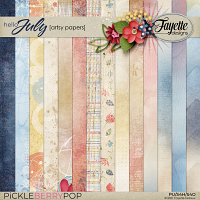 Hello July: Artsy Papers