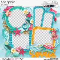 Sea Splash (clusters) by Simplette