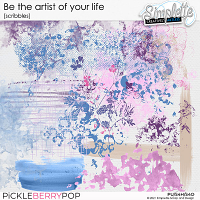 Be the artist of your life (scribbles) by Simplette